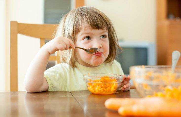 сбалансированное питание для детей от 1 года