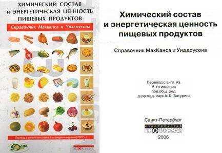 сборник диетического питания для детей