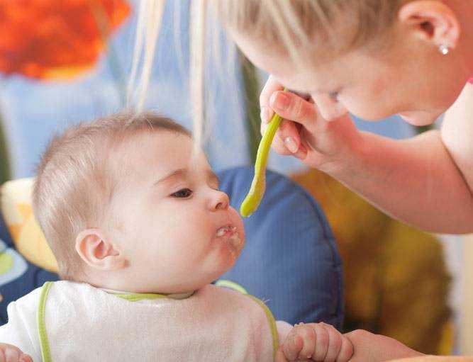 схема питания детей 7 месяцев