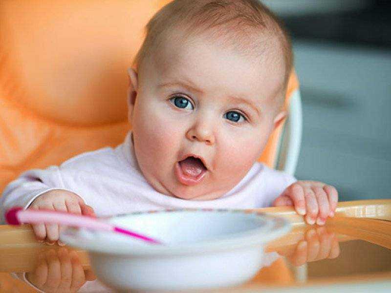 схема питания детей в год
