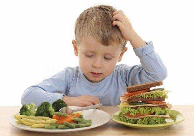 слабительные продукты для детей 3 лет питание