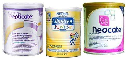 смесь для энтерального питания для детей
