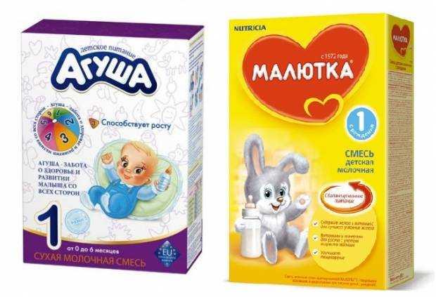смесь для питания детей какая лучше