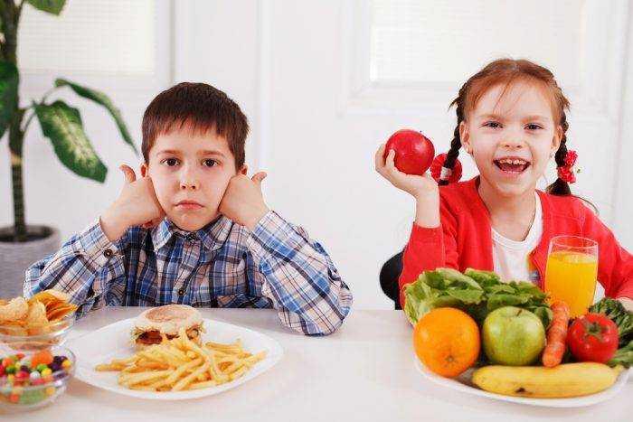 советы родителям о правильном питании детей