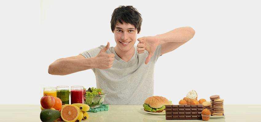спортивное питание для детей 12 меню