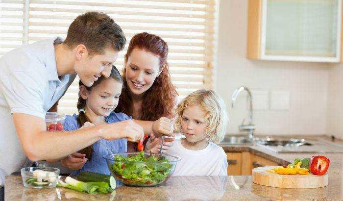 важность здорового питания для детей