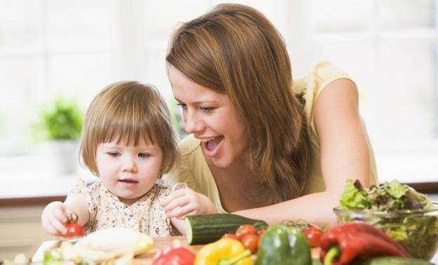 важность здорового питания для детей и в старости