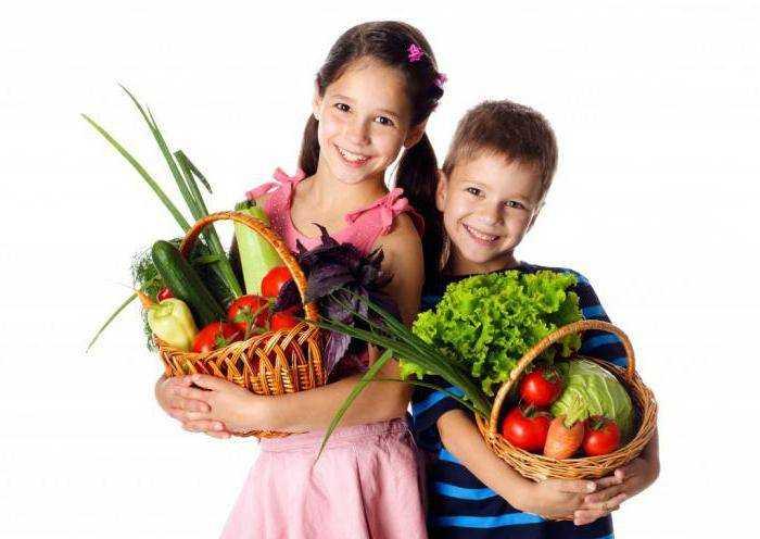 вкусное и здоровое питание для детей