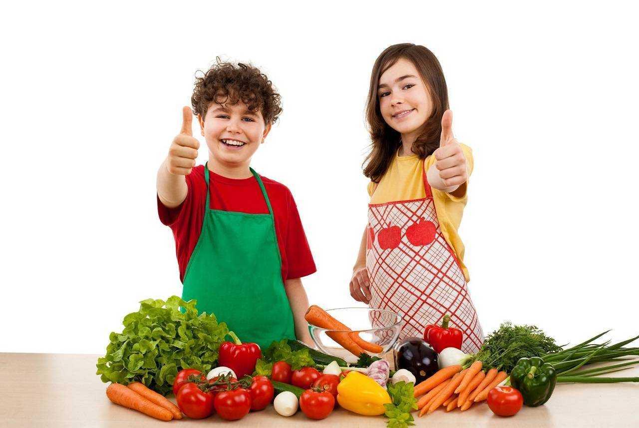 задачи правильного питания для детей