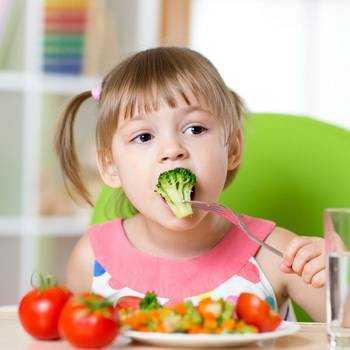 здоровье зависит от питания детей