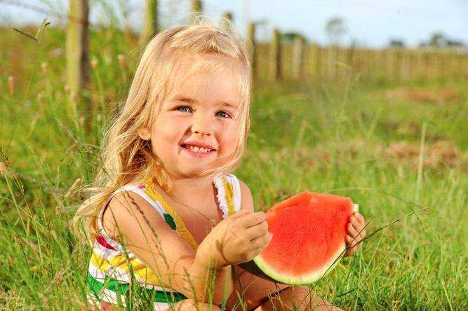 арбуз в питании детей