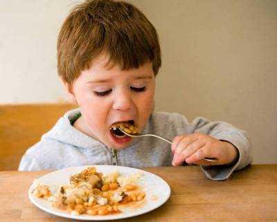 фасоль в питании детей