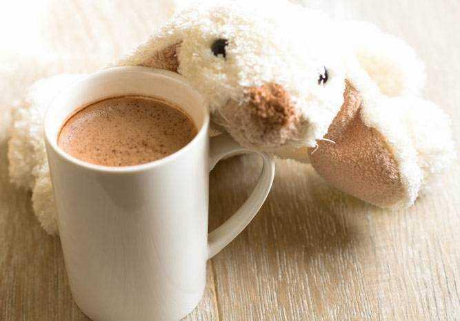 какао в питании детей