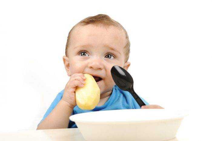 картофель в питании детей