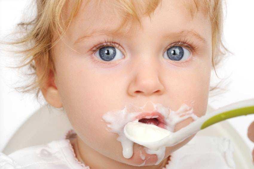 каши в питании детей