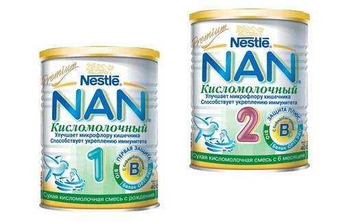 кисломолочное питание для детей