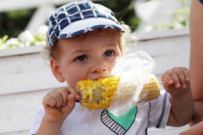 кукуруза в питании детей