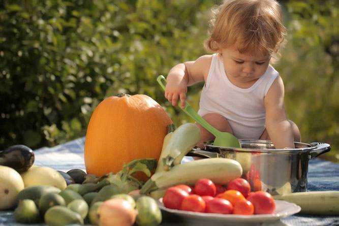 овощное питание для детей