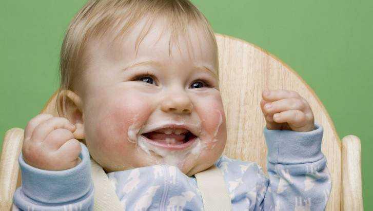 питание детей от полугода