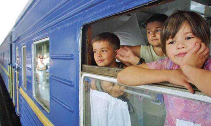 питание детей в поездке
