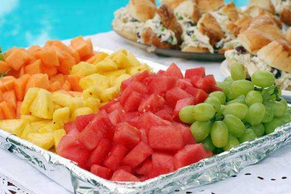 питание детей в жару