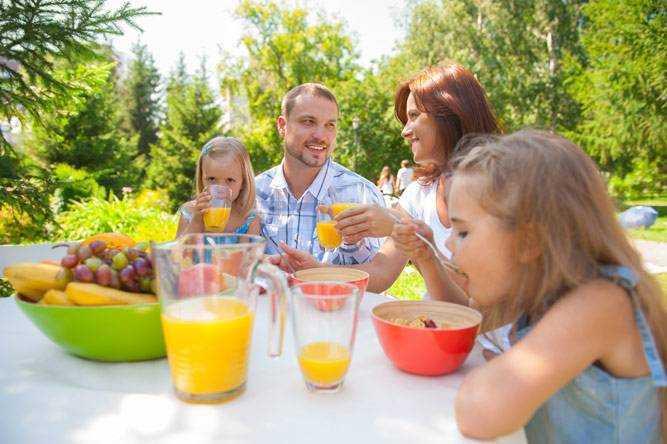 питание для детей домашние