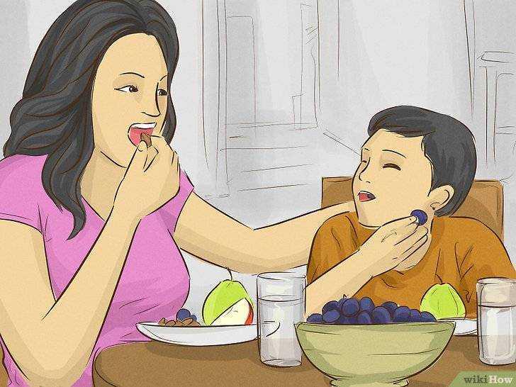 питание для худых детей