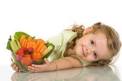 питание для полных детей