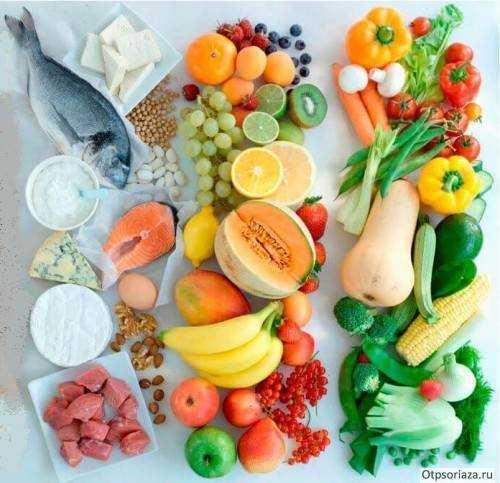 питание при псориазе детям