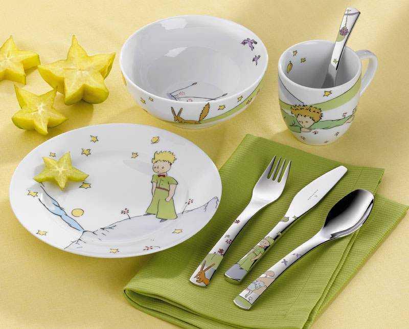 посуда для питания детей