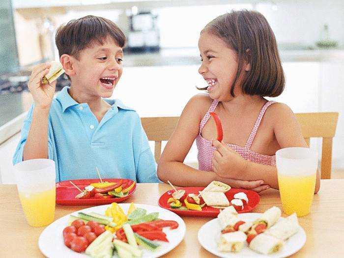 правильное питание детей летом