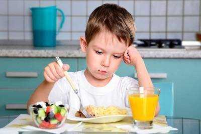 разнообразное питание для детей