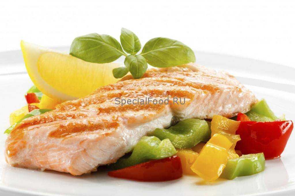 рыбное питание для детей