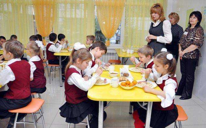 школьное питание детям сиротам