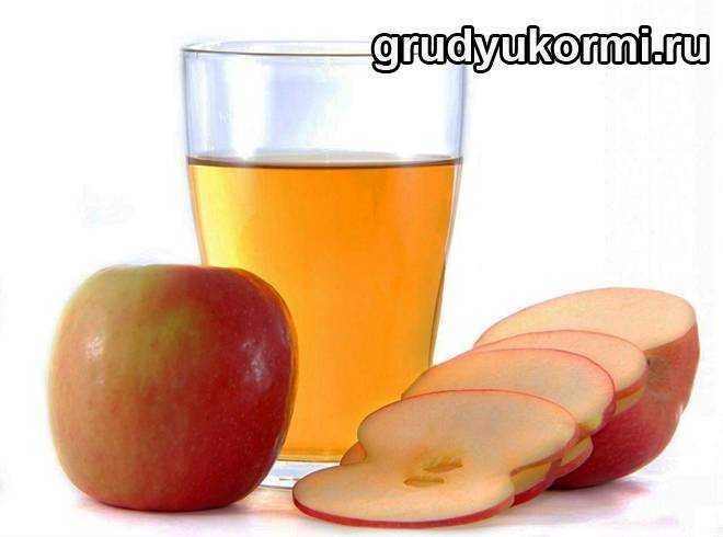 со скольки месяцев можно вводить соки в питание грудных детей