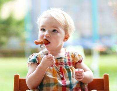 сосиски в питании детей