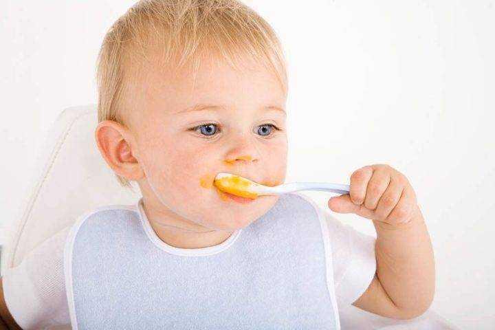 тыква в питании детей
