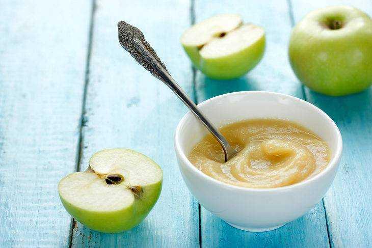яблоки в питании детей