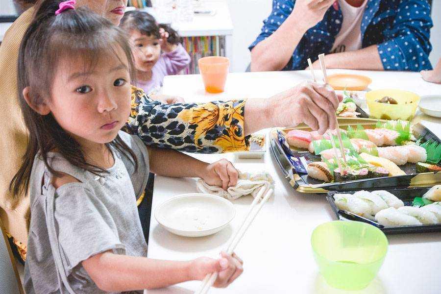 японское питание для детей