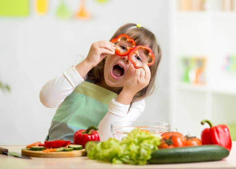 здоровое питание детей тезисы