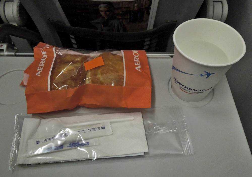 аэрофлот питание на борту для детей