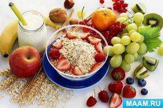 консультация для родителей особенности питания детей в летний период