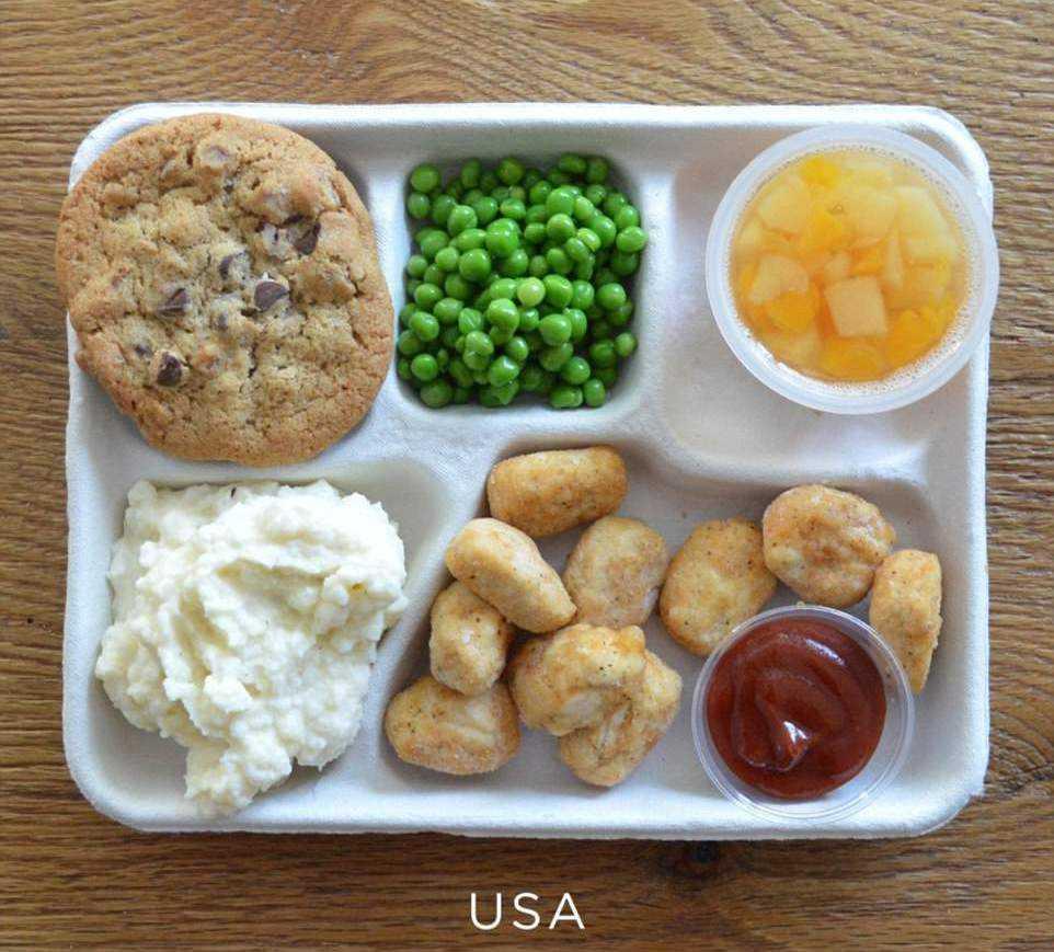 питание детей в школьной столовой