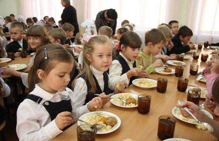 питание в школьной столовой детей из многодетных семей